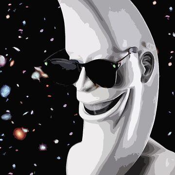 The Moonman  by SliceOfBrain