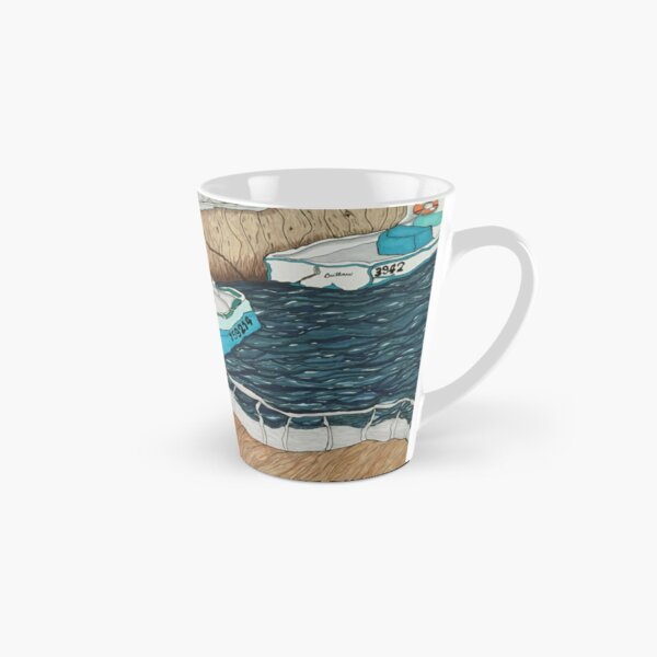 """Pugwash Boats""~Painting by Dawn Langstroth ©2020 Tall Mug"
