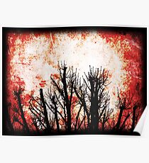 Trees on Fire Poster