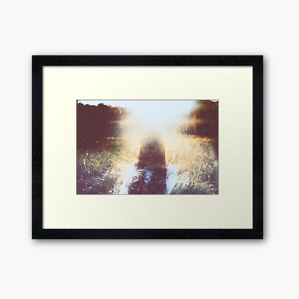 LÀ-BAS II Framed Art Print