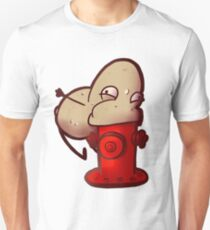 A Potato Eating A Fire Hydrant T-Shirt