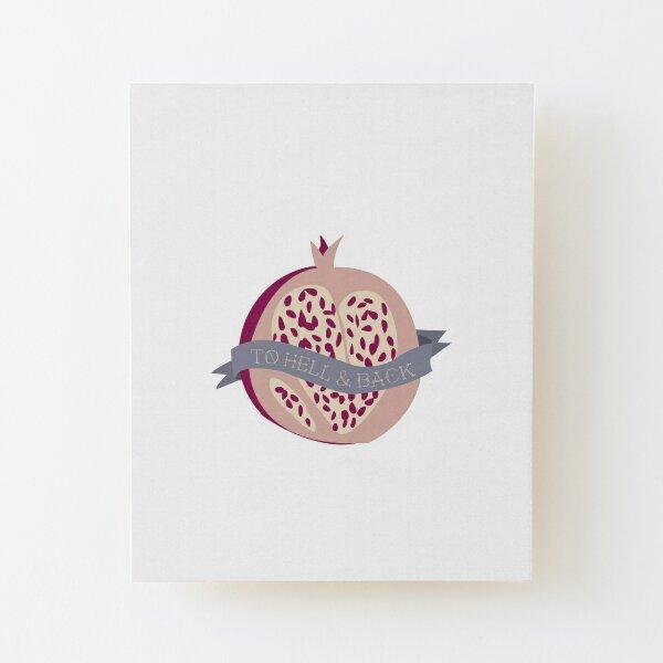 Persephone's Ink - Spring Equinox Wood Mounted Print