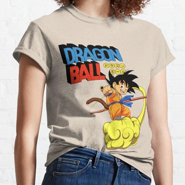DragonBall - Kid Goku and Flying Nimbus Classic T-Shirt