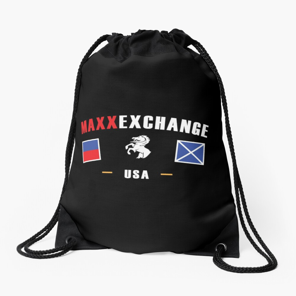 Maxx Exchange Stallion Catamaran Powerboat Skipper. Drawstring Bag