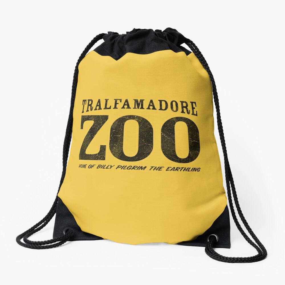 Tralfamadore Zoo Drawstring Bag