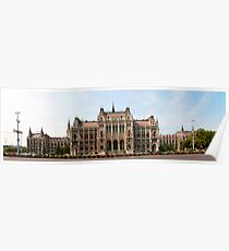 Hungarian Parliament - Budapest Poster