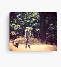 Kitty and Casper Canvas Print