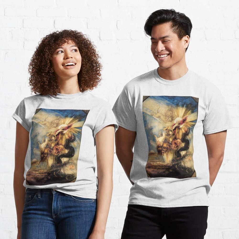 Phaethon Fall, Gustave Moreau, 1878, 99×65 cm Classic T-Shirt