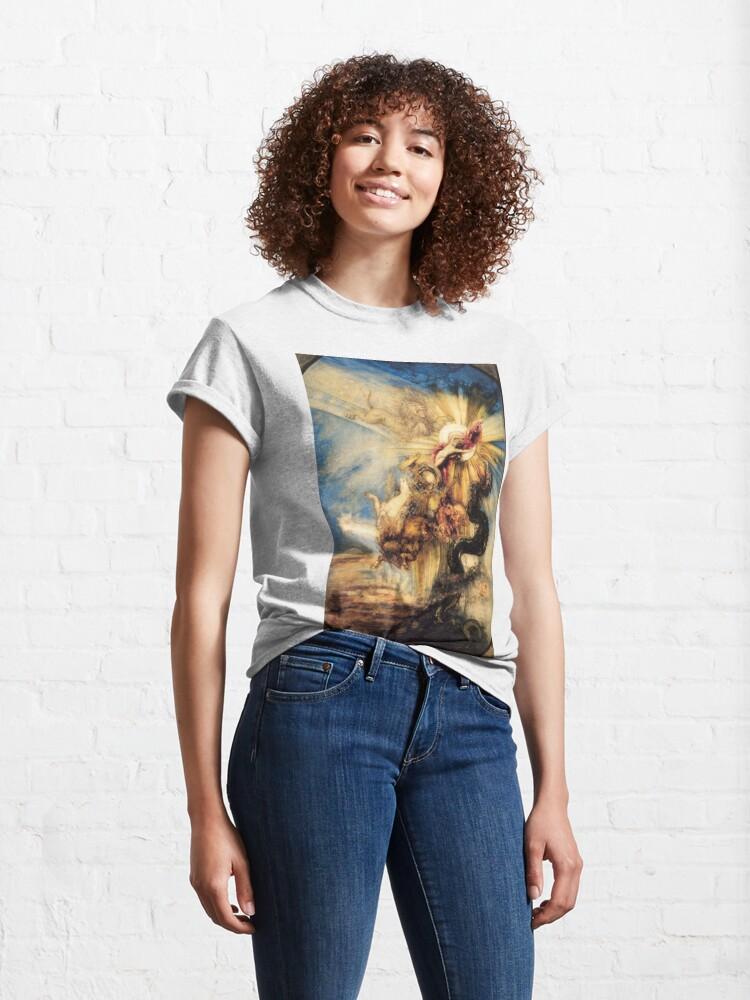 Alternate view of Phaethon Fall, Gustave Moreau, 1878, 99×65 cm Classic T-Shirt
