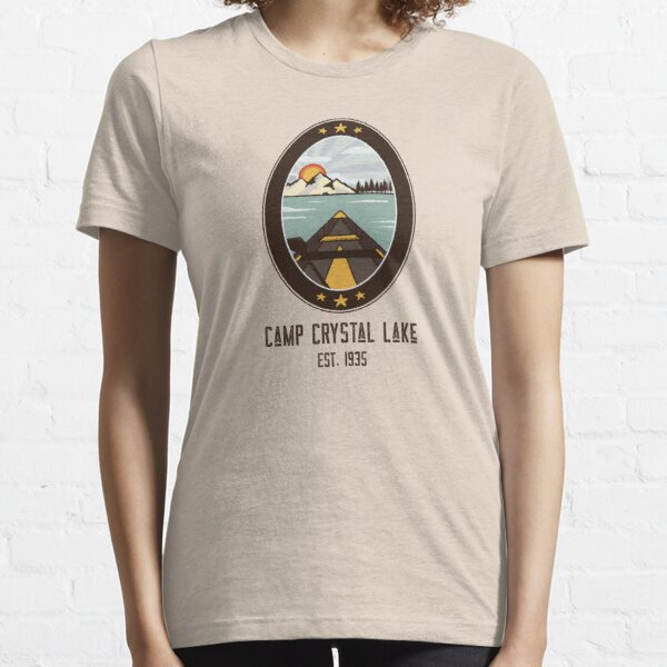 Camp Crystal Lake - Friday the 13th - Cult Horror Movie Essential T-Shirt