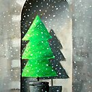 Christmas card 2011 by Carole Russell