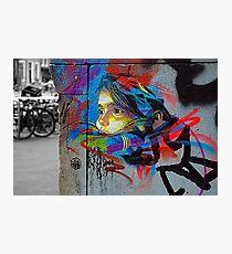Street art by C215 Photographic Print