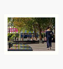 BFI Imax - South Bank Art Print