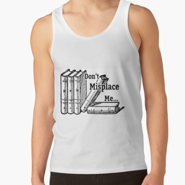 Finder's Keepers book reading design Tank Top