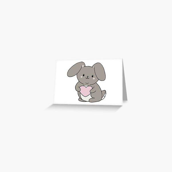 Love Bunny Greeting Card