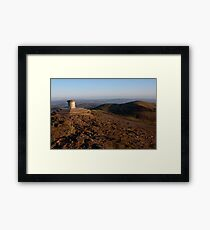Worcester Beacon and North Hill Framed Print