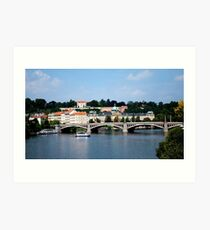 Praha architecture Art Print