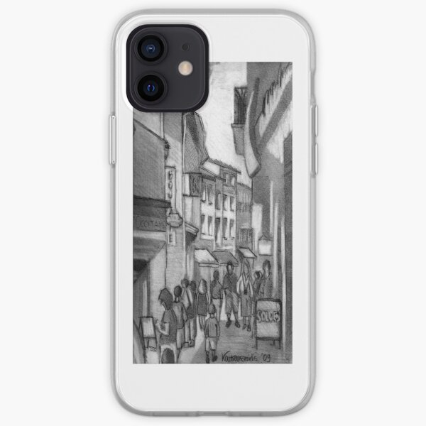 Walking and Shopping- the iPhoneCase iPhone Soft Case