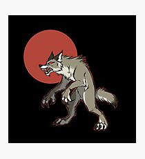 Redmoon Werewolf Photographic Print