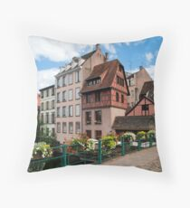 Strasbourg. Small France Throw Pillow