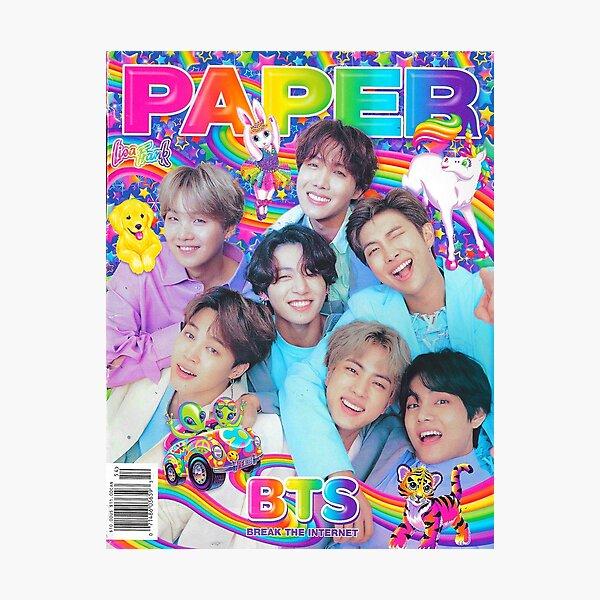 BTS PAPER MAGAZINE Photographic Print