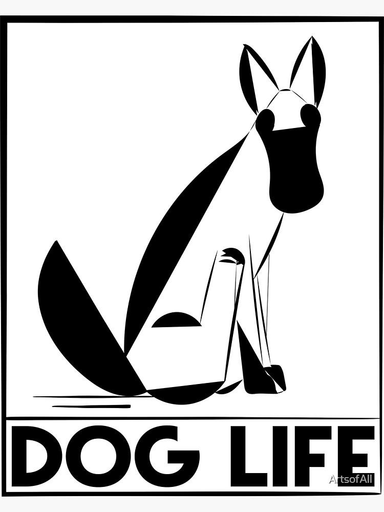 Dog Life by ArtsofAll
