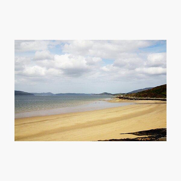 Porthaw beach Photographic Print