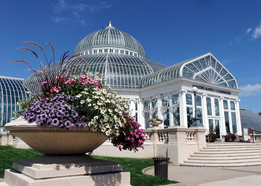 Marjorie McNeely Conservatory - St. Paul, Minnesota by kkmarais
