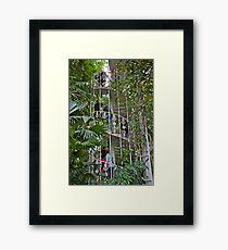 Upward Spiral Framed Print