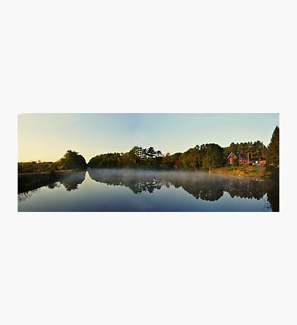Morning Comes to River Bend Farm  Photographic Print