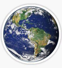 Erde Sticker
