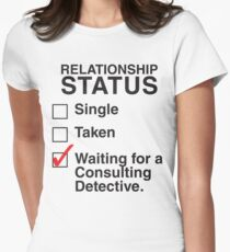 SINGLE TAKEN WAITING FOR A CONSULTING DETECTIVE T-Shirt