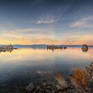 Mono Lake - Sunset by Ted Lansing