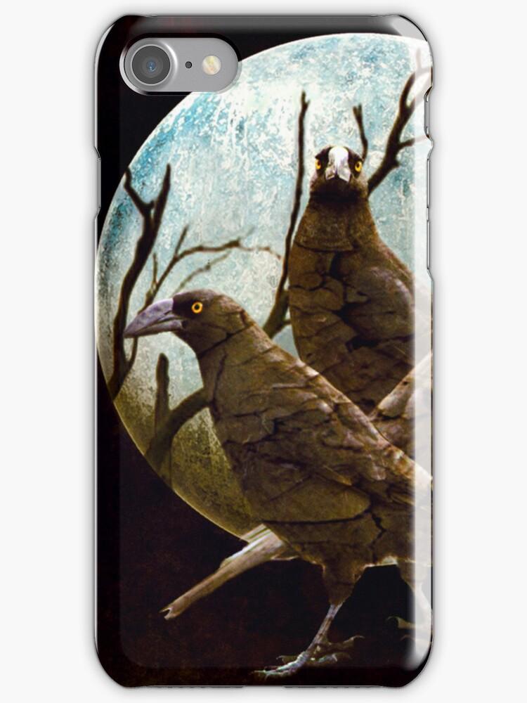 Full Moon In Tasmania-I Phone Case by Diane Johnson-Mosley
