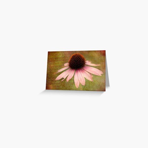 Sun Hat writings Greeting Card