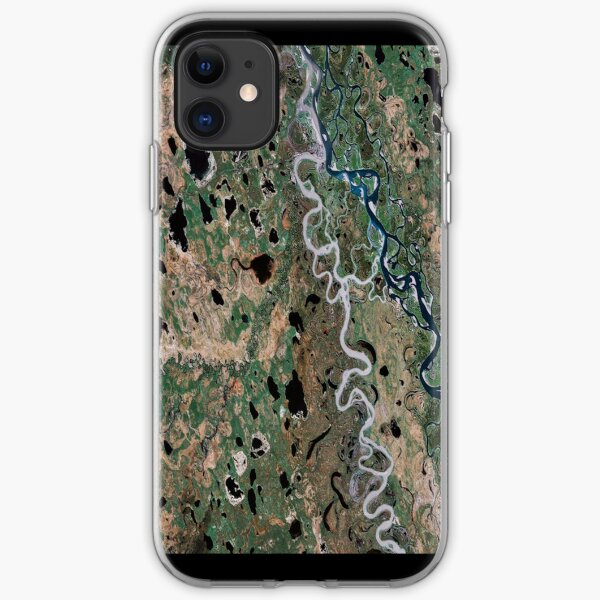 """Earth - The Amazon"" - phone iPhone Soft Case"