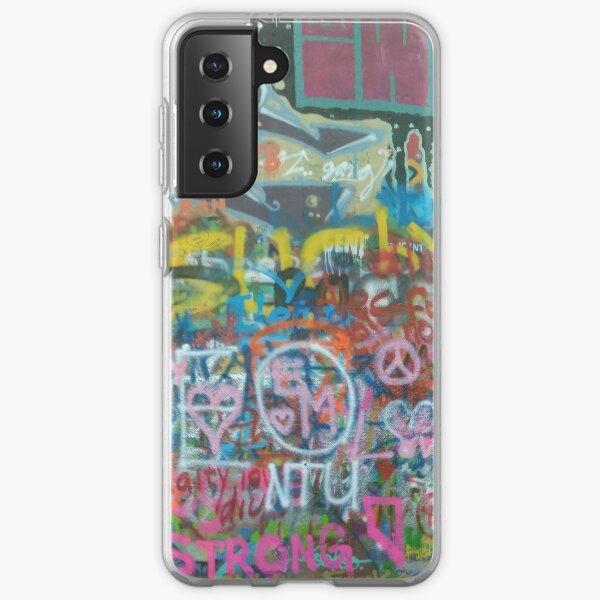 John Lennon Wall Samsung Galaxy Soft Case