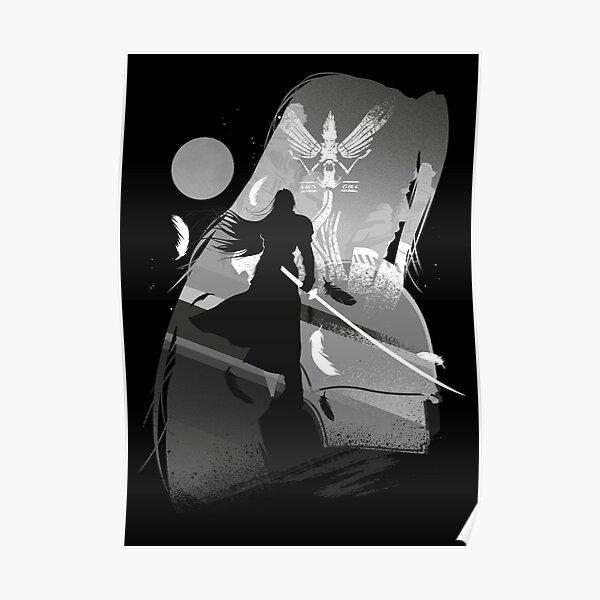 Villain-Sephiroth Poster