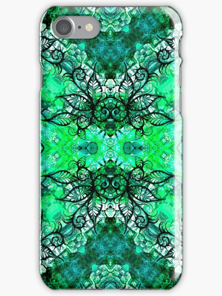 iphone case - abstract 012 by MelDavies