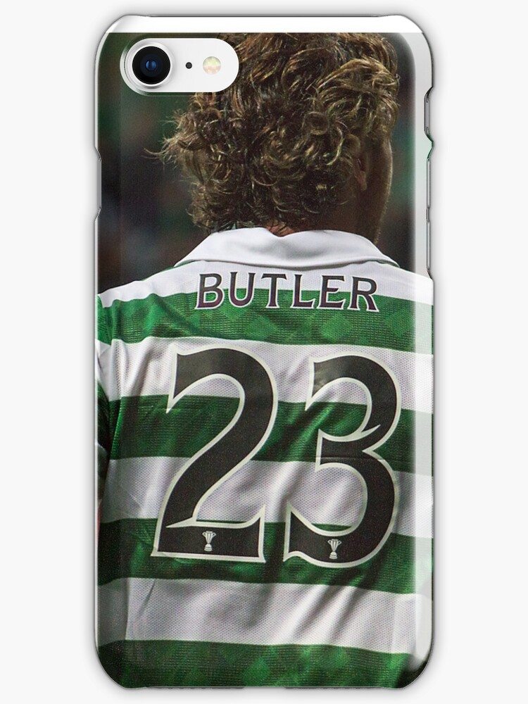 Gerard Butler Celtic - iPhone 4 / 4S case by Vagelis Georgariou