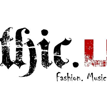 Gothic.Life Logo (White with tag) by GothicLife