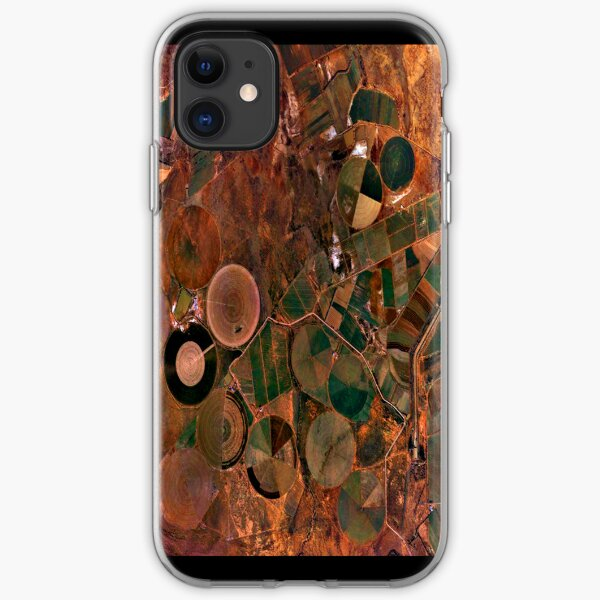 """Circles On Earth"" - phone iPhone Soft Case"