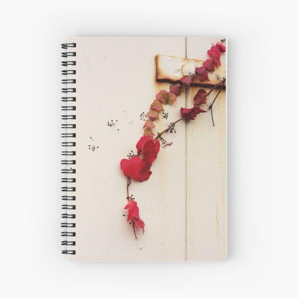 Red ivy Spiral Notebook