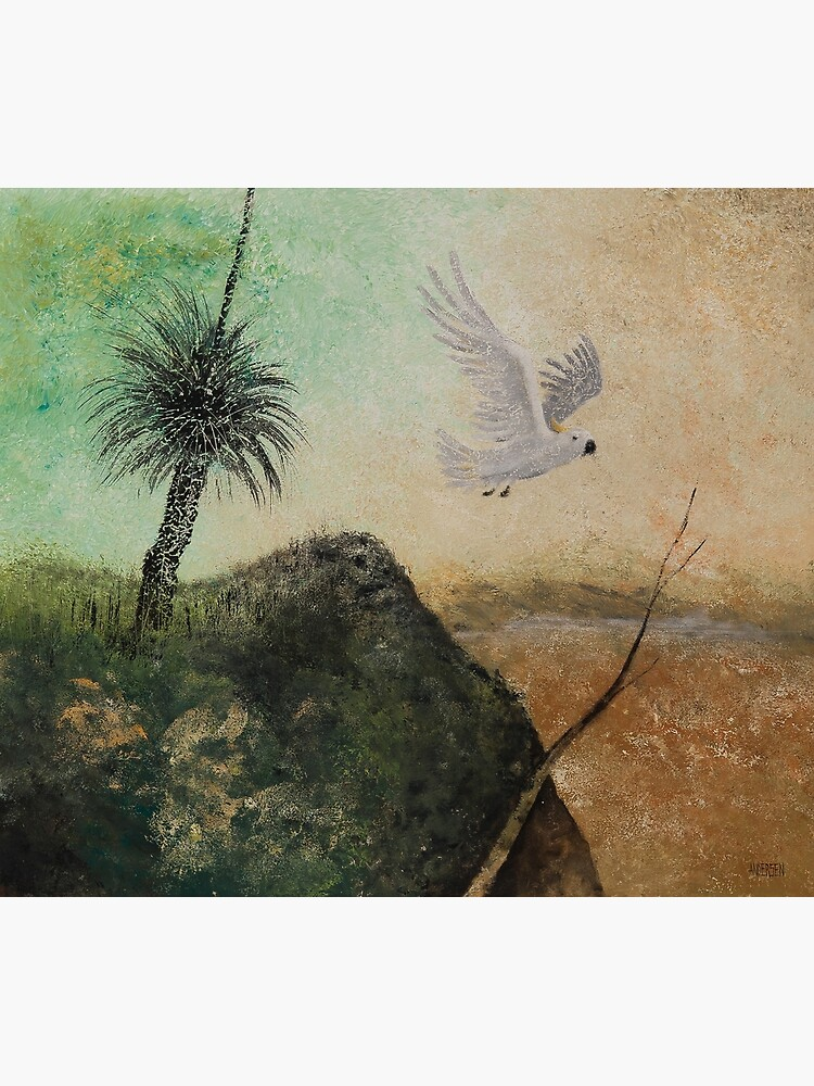 LANDSCAPE OF THE LOST COCKATOO by arttas