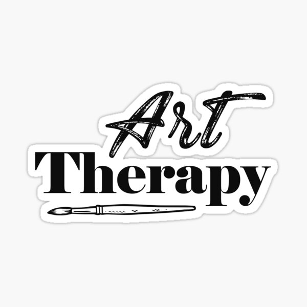 Art Therapy Sticker