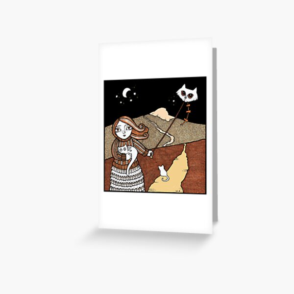Maggies Moggies (Mither Tap) Greeting Card