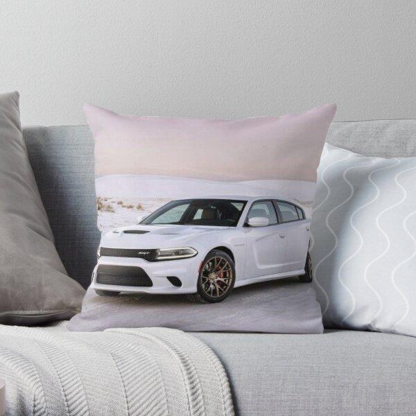 Dodge Charger SRT Hellcat Throw Pillow