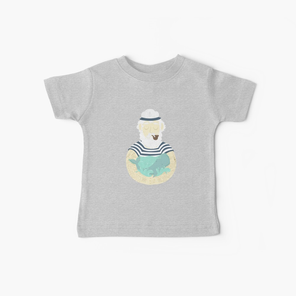 Lasst uns die Meere retten Baby T-Shirt