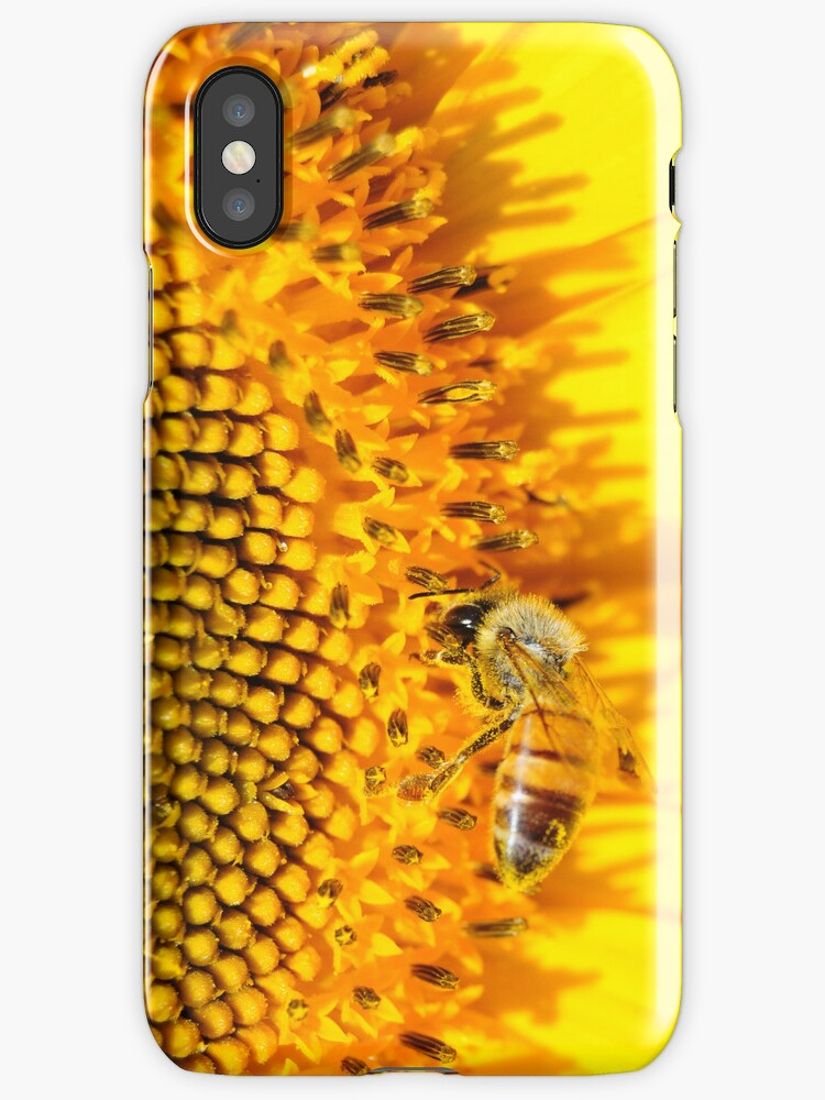 Sunflower Iphone case by Javimage