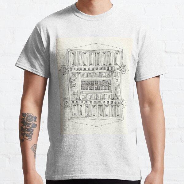 Construct Art Line Drawing 279 Classic T-Shirt